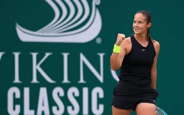 Дарья Касаткина разошлась не на шутку! Наша теннисистка за один день выиграла и четвертьфинал, и полуфинал в Бирмингеме