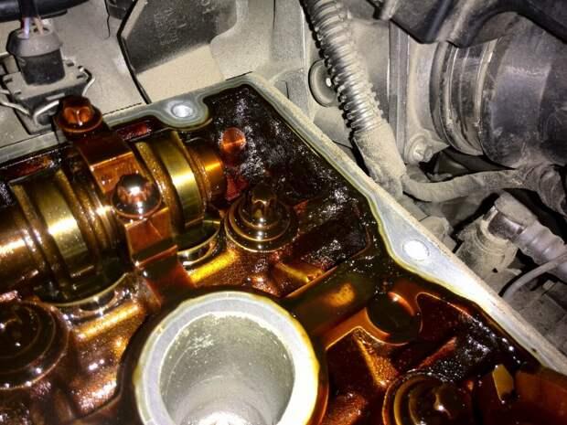 Разбор двигателя с пробегом 80 000 км, в котором меняли масло раз в 15 000
