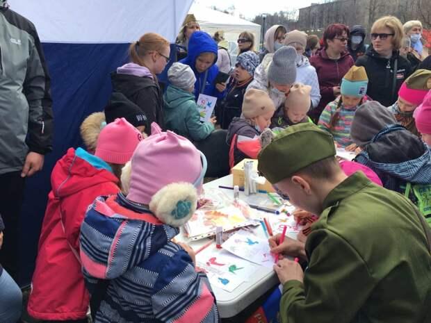 Петрозаводск отмечает День Победы
