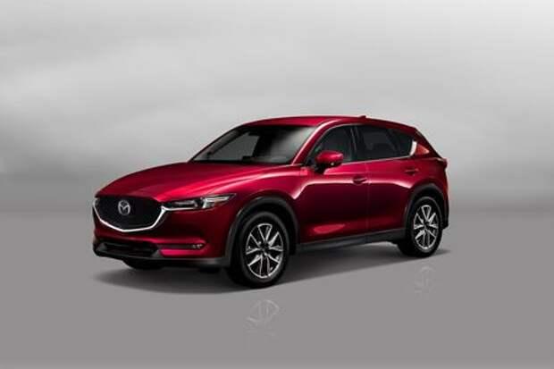 Mazda CX-5 примет на борт семерых