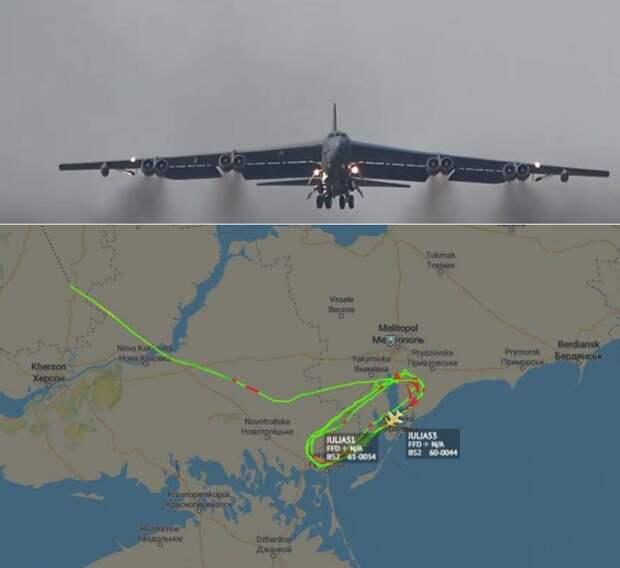 На Украине таки дождались: В-62Н осуществили полет над ее территорией