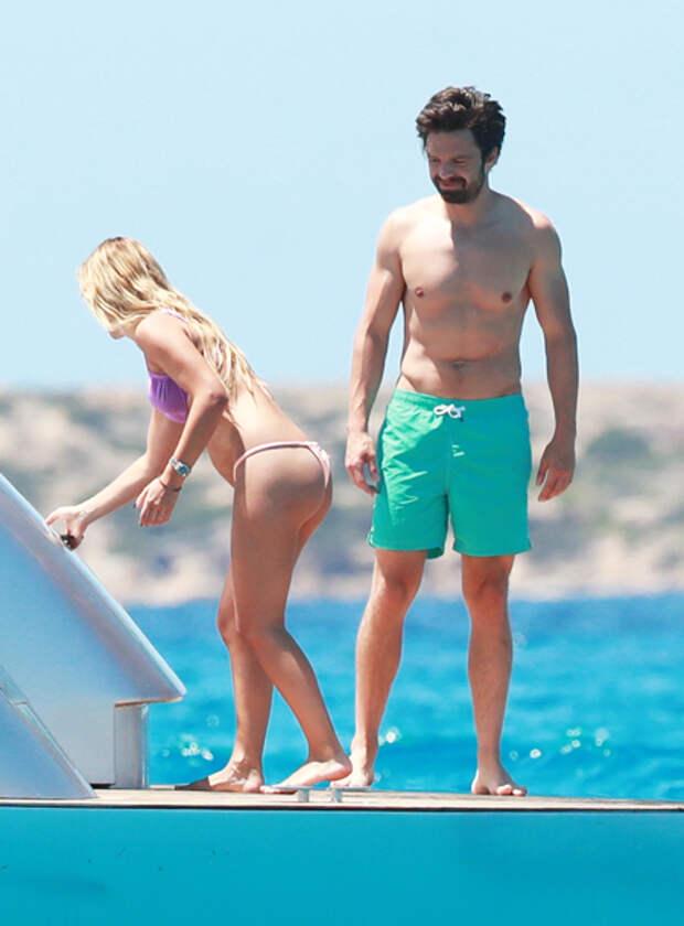 """Звезда """"Мстителей"""" Себастиан Стэн встречается с актрисой Алехандрой Ониэва: фото отдыха пары"""