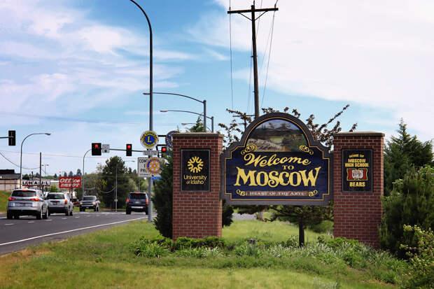 Русские места в США