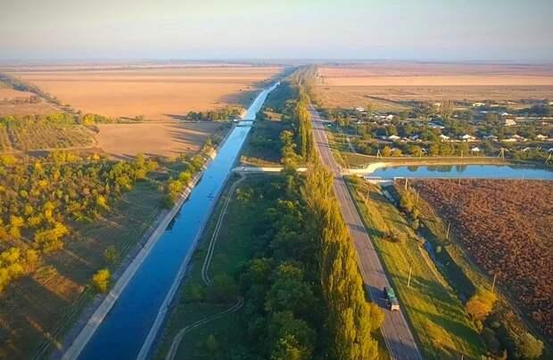 В Крыму решено построить тракт водоподачи в Северо-Крымский канал