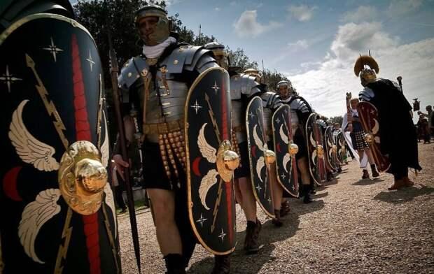 Могли быть и такие модные легионеры в черном.|Фото: fishki.net.