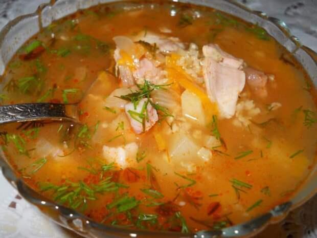 Суп Затируха