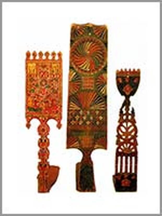 Прялки. Русский Север. 19 век