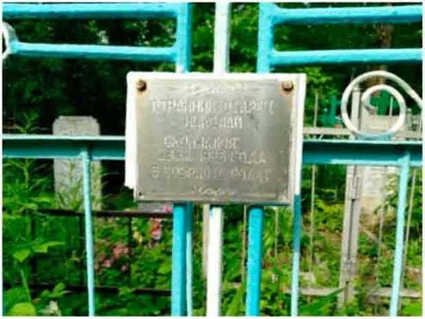 Могила Николая-II на кладбище Красная Этна