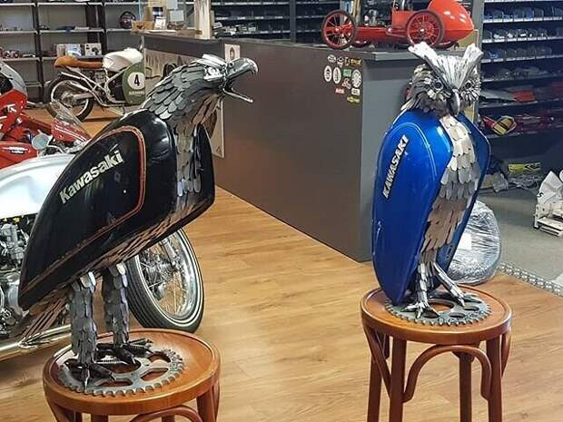 Когда мотоцикл откатал свое Jos Hammer дает ему новую жизнь в новом облике...