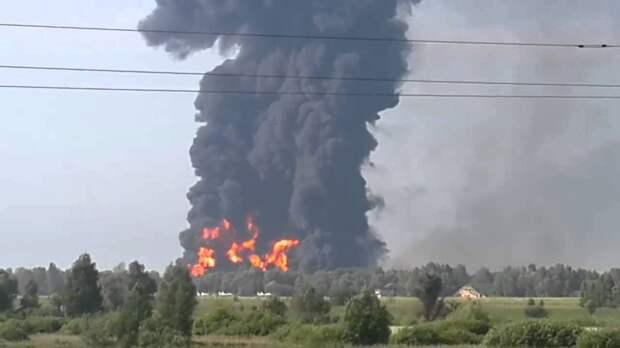 """Российский беспилотник """"Орион"""" нанес ракетный удар по крупнейшей сирийской нефтебазе"""