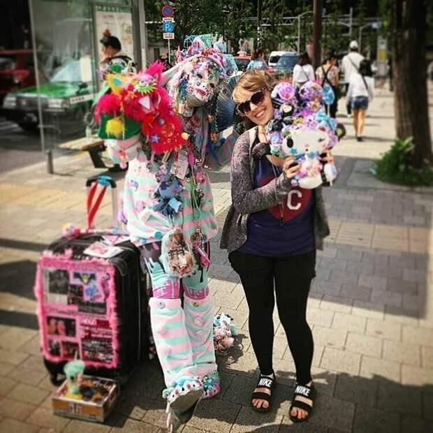 Странные и даже пугающие субкультуры жизнь, подборка, странность, фотография, фотомир, явление, япония