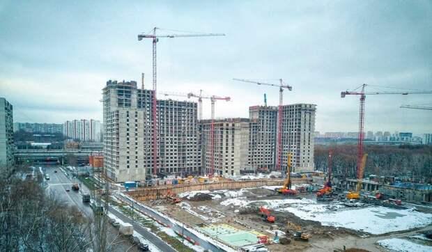 На юге Москвы появится новый микрорайон