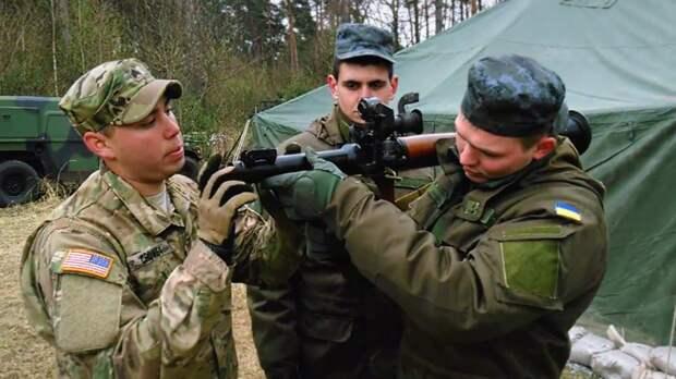 Украина попросила военной помощи у США