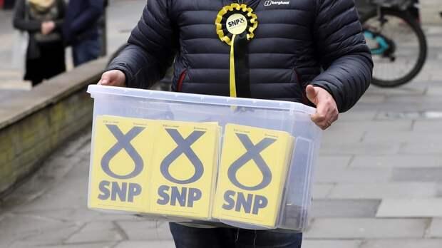 Шотландская национальная партия получила большинство мест в парламенте