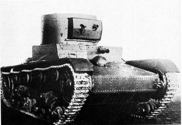 На фото – общий вид телетанка, 1935 год военная техника, военное, история, много букв, танки, танки СССР, техника, факты