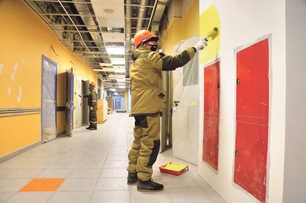 Открытия этой поликлиники жители Алексеевского района ждут уже несколько лет/Фото: Артур Новосильцев