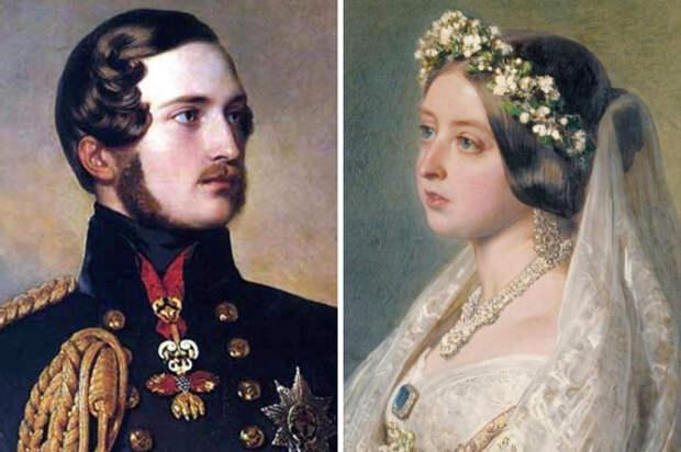 Принц Альберт Саксен-Кобург-Готский и британская королева Виктория.   Фото: 4.bp.blogspot.com.