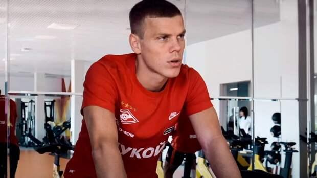 «Будет эффектно, если я дебютирую в дерби с ЦСКА». «Спартак» показал, как Кокорин набирает форму: видео