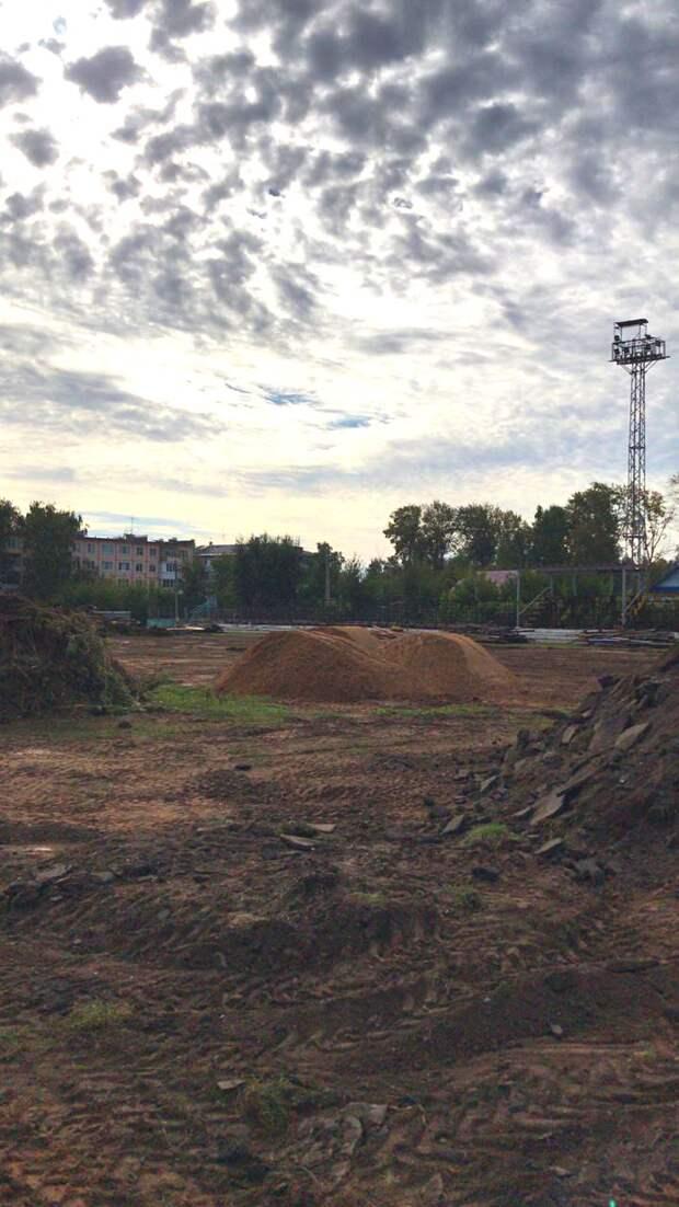 Капремонт стадиона «Локомотив» начался в Ижевске