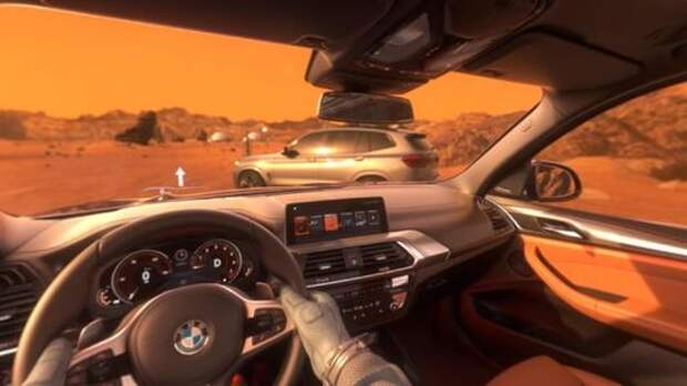 BMW предлагает испытать новый кроссовер X3 на Марсе