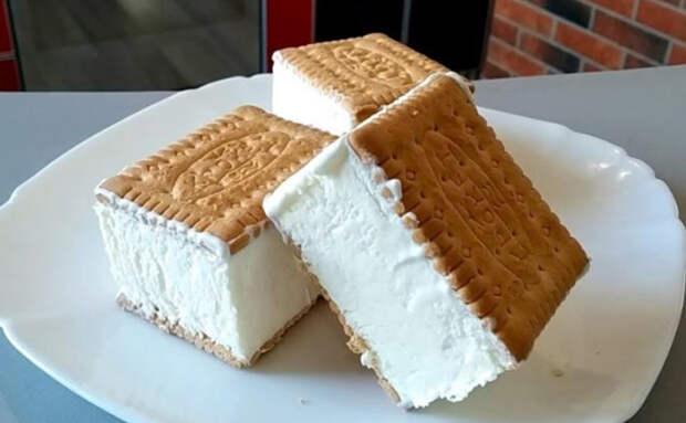 Нашли рецепт идеального мороженого всего из 3 ингредиентов: делаем из сливок и печенья