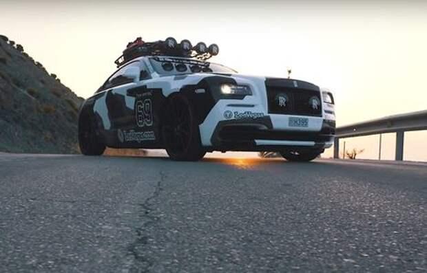 Безумный тюнинг Rolls-Royce Wraith. За что его так?!