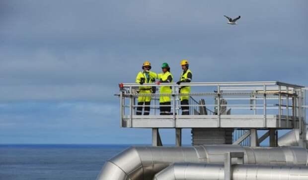 На12% снизила добычу углеводородов Норвегия всентябре 2020