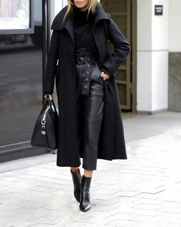 Модное пальто : осенние образы (трафик)