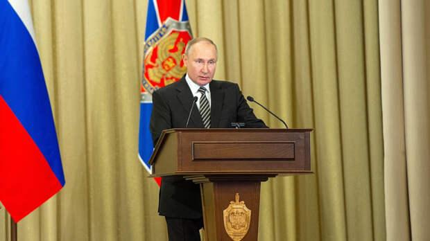 Президент России внес в Госдуму законопроект о выходе страны из ДОН