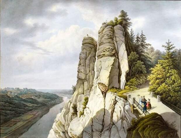 Скалистый бастион Саксонии
