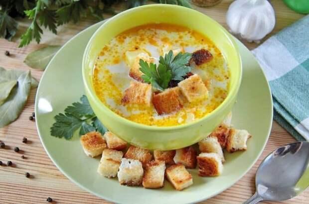 Сырный суп с картофелем