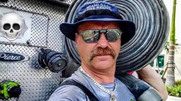 Пожарный из Флориды одним из первых прибыл на вызов в собственный дом, но не успел спасти жену