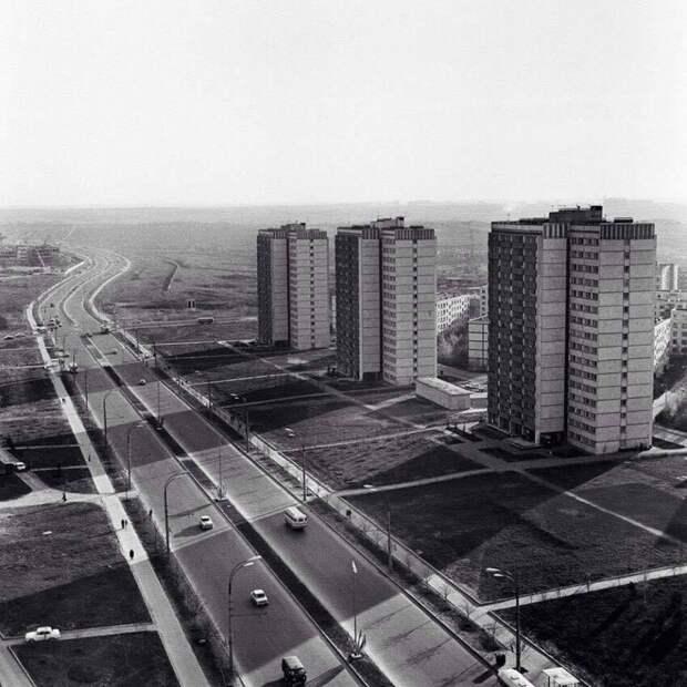 Пpocпeкт Вернадского. Москва, 1973 год