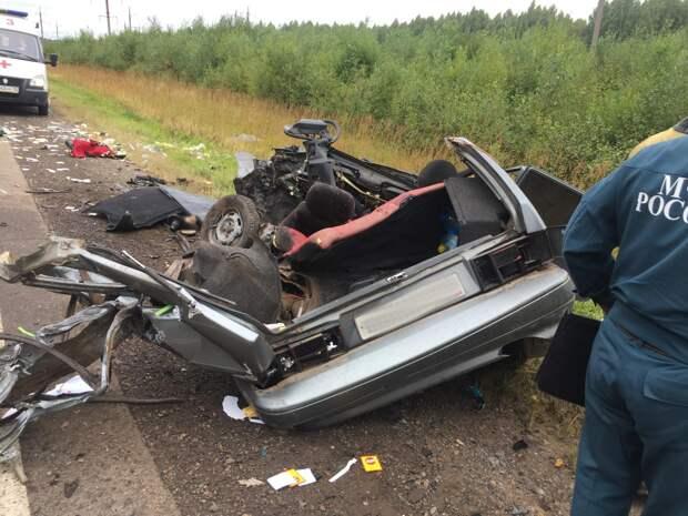 Три смертельные аварии произошли в Удмуртии 20 августа