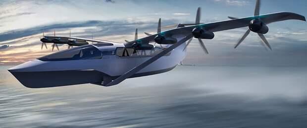 Электрический экраноплан Seaglider, развивающий 290 км/ч, пойдет в серию