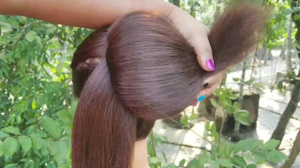 Объёмная французская причёска, а главное себе легко сделать