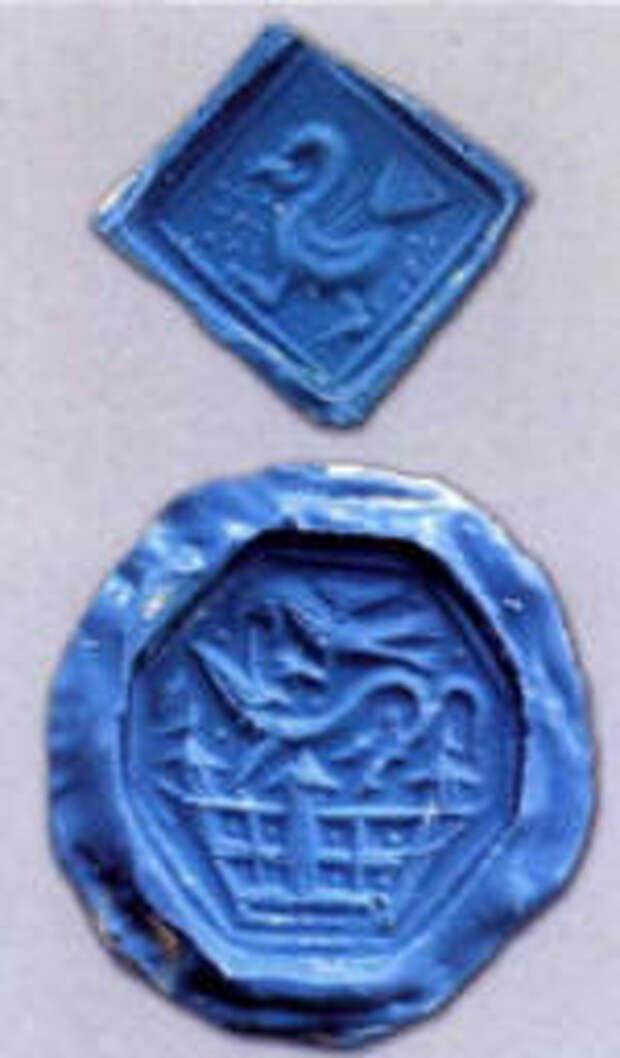 оттиски древнерусских печатей