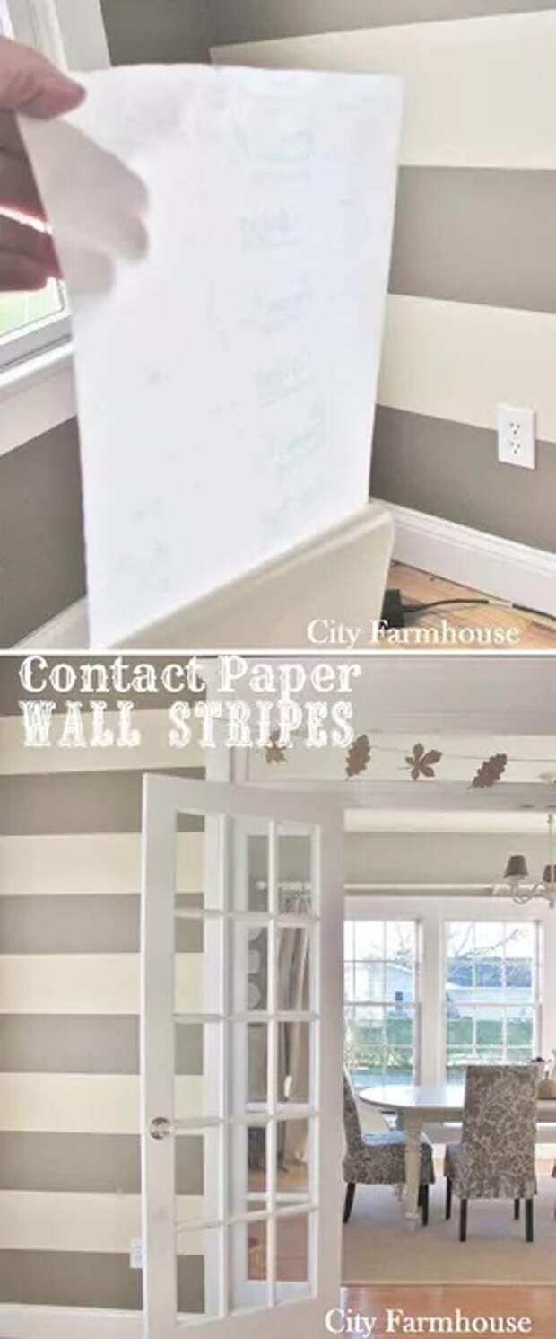 как переделать стены и мебель