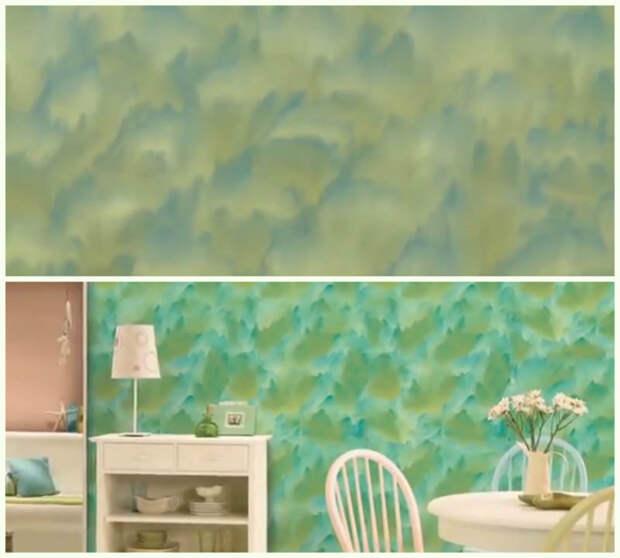 Неординарная покраска стен: 10 способов декора стен краской