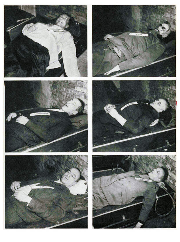 30 сентября 1946 года Нюрнбергский трибунал вынес приговор нацистским преступникам