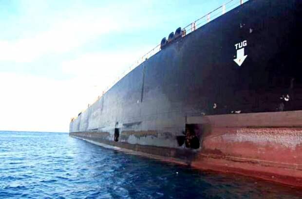 Атака израильтян: иранский корабль получил пробоину в Красном море
