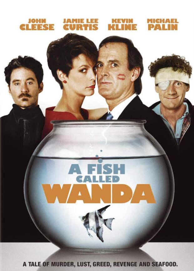 Рыбка по имени Ванда / A Fish Called Wanda, 1988 70-80 года, комедии, на выходные, подборка