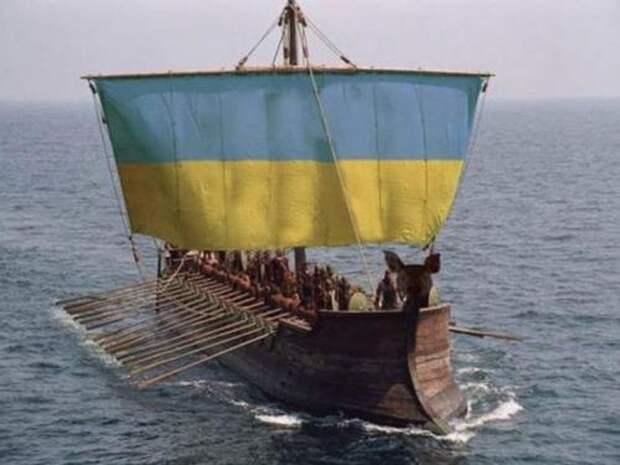 В России высмеяли призыв Украины конвоировать суда Украины