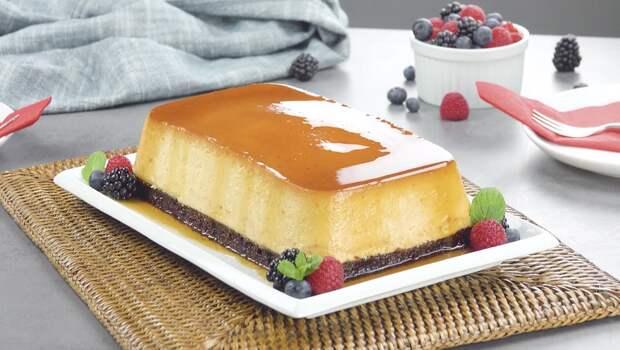 Крем карамель из сгущенного молока: очень вкусный десерт