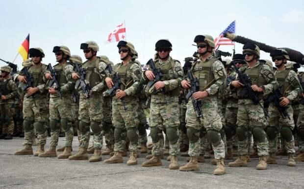 На границу с Украиной НАТО направляет 37 тыс. военнослужащих с военной техникой