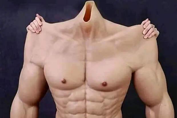 В продажу поступило накаченное мужское тело