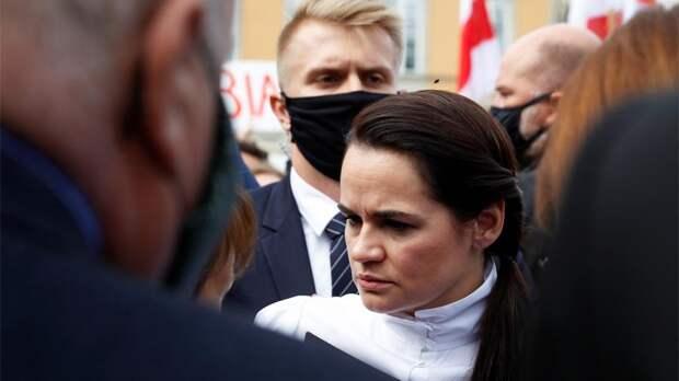 Тихановская пригрозила предать огласке имена участвующих в задержаниях силовиков