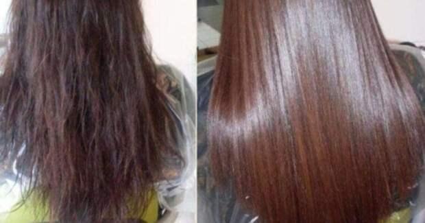 Экзотическое ламинирование волос дома. Без желатина! Потрясающий эффект