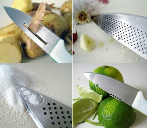Многофункциональный кухонный нож. | Фото: sumtisitbe.tk.