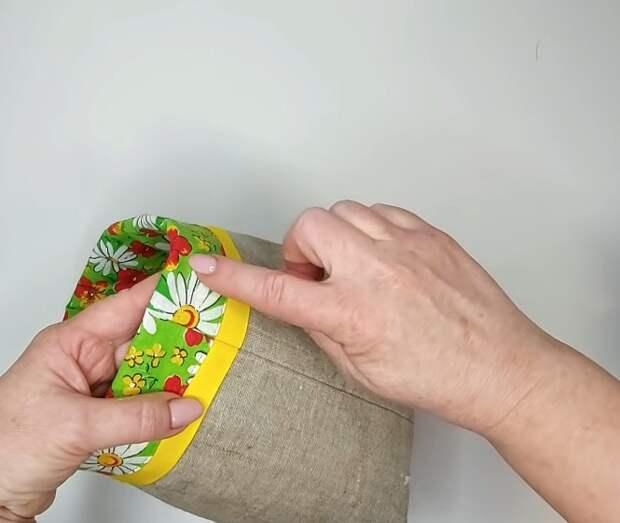 Умница мастерица сшила незаменимое приспособление для шитья